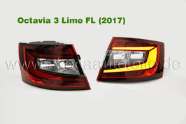 LED Rückleuchte KIRSCHROT (L+R) - original - SKODA OCTAVIA III Facelift (5E) Limo