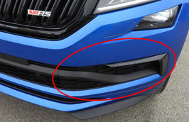 Stoßstange Blende + Flap (links) - original - SKODA KODIAQ RS