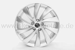 "4x Leichtmetallfelge PEGASUS Silber 18"" - original - SKODA SUPERB III (3V) L&K"