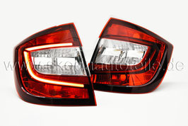 LED Rückleuchte KIRSCHROT (L+R) - original - SKODA RAPID Facelift Limo
