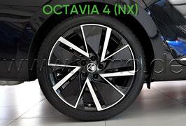 "4x Leichtmetallfelge VEGA-AERO 18"" - original - SKODA OCTAVIA IV (NX)"