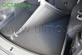 Doppelseitige Matte für Kofferraum - original - SKODA OCTAVIA IV (NX) Combi