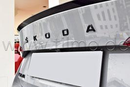 """BLACK Schriftzug Emblem Heckklappe """"SKODA"""" - original - SKODA OCTAVIA"""