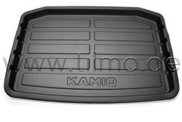 Kunststoffwanne für den Kofferraum - original -SKODA KAMIQ