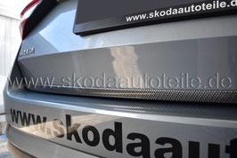 Dekorleiste für Heckklappe CARBON look - SKODA SUPERB II (3T)