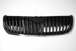 Kühlergrill - Ersatzteil - SKODA SUPERB II (3T) Black gloss