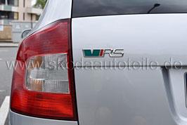 """RS Schriftzug Emblem Heckklappe """"VRS"""" GRÜN - original"""