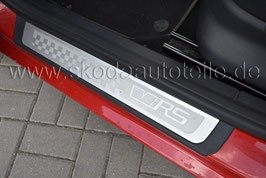 """Einstiegsleisten mit Alu-Einlage """"VRS"""" (vorne) - SKODA FABIA II RS"""