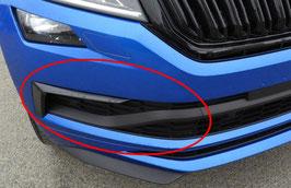 Stoßstange Blende + Flap (rechts) - original - SKODA KODIAQ RS