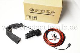 Rückfahrkamera mit Waschdüse RFK + Kabelsatz - original - SKODA FABIA III (6V)