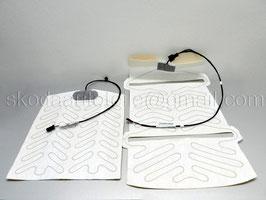 Heizungsmatte, Sitzheizung, Heizelement (Sitzfläche+Rückenlehne) - original - SKODA RAPID