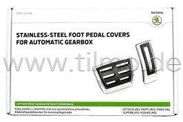 DSG Pedalset - original - SKODA OCTAVIA III (5E), VW Golf 7, Audi A3 8V, Seat Leon 5F