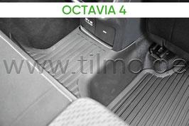 Gummifußmatte für Tunnel - original - SKODA OCTAVIA IV (NX)