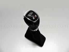 DSG 4x4 Schaltknauf (Leder) - original - SKODA YETI Facelift