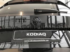 SKODA Emblem Logo BLACK (hinten) - original - SKODA KAROQ, KODIAQ