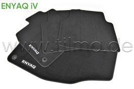 SET Fußmatten PREMIUM (vorne+hinten) - original - SKODA ENYAQ (5A)