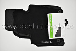 SET Textilfußmatten Standard - original - SKODA SUPERB II
