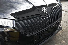 Kühlergrillleiste Monte Carlo schwarz-metallic - original - SKODA FABIA III (6V) FACELIFT