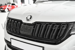 Kühlergrillleiste RS, SPORTLINE Black-Paket - original - SKODA KODIAQ