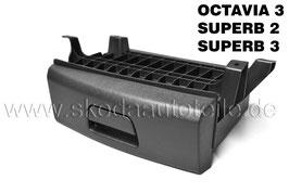 Ablagefach unter Beifahrersitz - original - SKODA OCTAVIA III, SUPERB II, SUPERB III