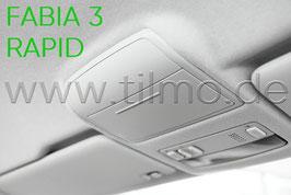 Brillenfach, Ablagefach - original - SKODA FABIA III, RAPID