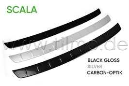 Ladekantenschutzleiste BLACK, SILVER oder CARBON - original - SKODA SCALA