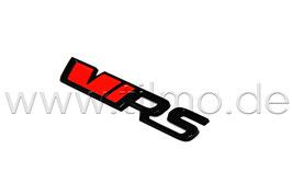 "Schriftzug Emblem Heckklappe ""VRS"" BLACK EDITION - original - SKODA OCTAVIA 4 (NX)"