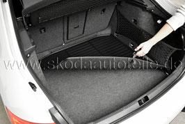Doppelseitige Matte für Kofferraum - original - SKODA OCTAVIA III (5E) Combi