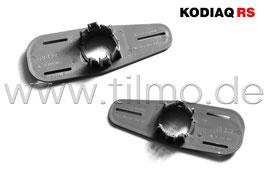 2x PDC Sensor Halter für Stoßstange Blende (L+R) - original - SKODA KODIAQ RS