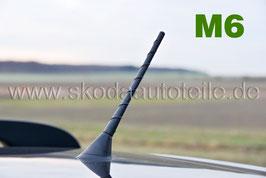 Stabantenne 2016 SHARK 20cm M6 (6mm) - original - SKODA, VW, AUDI, SEAT