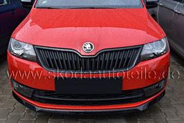 Kühlergrillleiste Monte Carlo schwarz-metallic - original - SKODA RAPID + RAPID Facelift