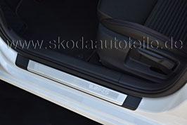 """Einstiegsleisten mit Alu-Einlage """"VRS"""" - SKODA OCTAVIA III (5E)"""