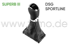 Schaltknauf Sportline DSG - original - SKODA SUPERB III (3V)