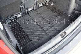 Gummimatte für Kofferraum - original - SKODA YETI (5L) ohne Zwischenboden
