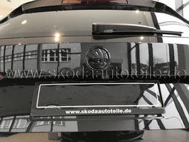 SKODA Emblem Logo BLACK (hinten) - original - SKODA YETI