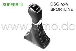 Schaltknauf Sportline DSG 4x4 - original - SKODA SUPERB III (3V)