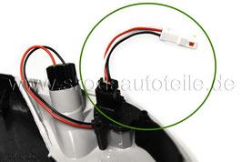 Adapter für Spiegelblinker Blinker Umfeldlicht - original - SKODA OCTAVIA (1Z) (2004-2009)