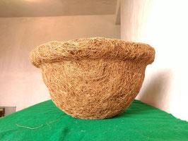 25.- Maceta De Fibra De Coco, Repuesto Colgante Jumbo.