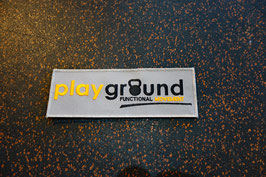 Playground Patch mit Klett groß