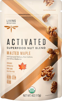 Aktivierte Bio Superfood Nussmischung Malted Maple