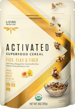Aktiviertes Bio Superfood Müsli Figs, Flax & Fiber