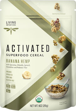Aktiviertes Bio Superfood Müsli Banana Hemp