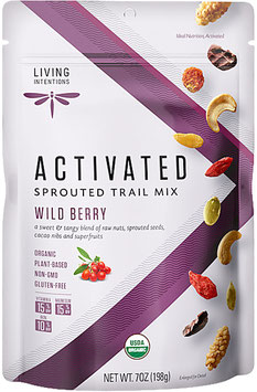 Aktivierter Bio Superfood Trail Mix Wild Berry