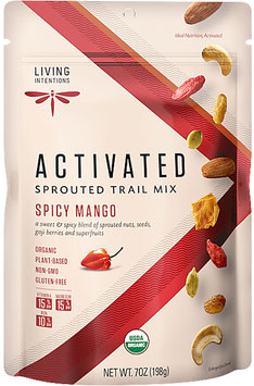 Aktivierter Bio Superfood Trail Mix Spicy Mango