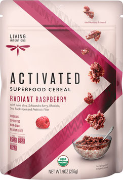 Aktiviertes Bio Superfood Müsli Radiant Raspberry