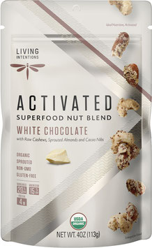 Aktivierte Bio Superfood Nussmischung White Chocolate