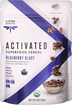 Aktiviertes Bio Superfood Müsli Blueberry Blast