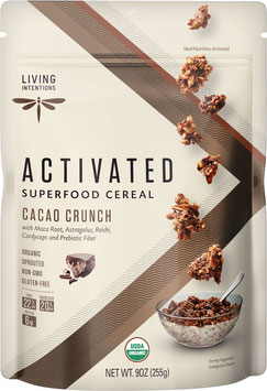 Aktiviertes Bio Superfood Müsli Cacao Crunch