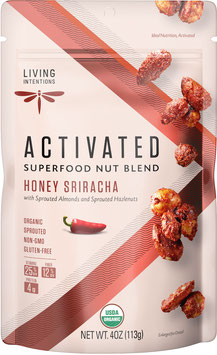 Aktivierte Bio Superfood Nussmischung Honey Sriracha