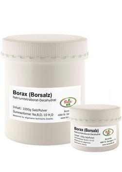 BORAX 100 - Borsalz